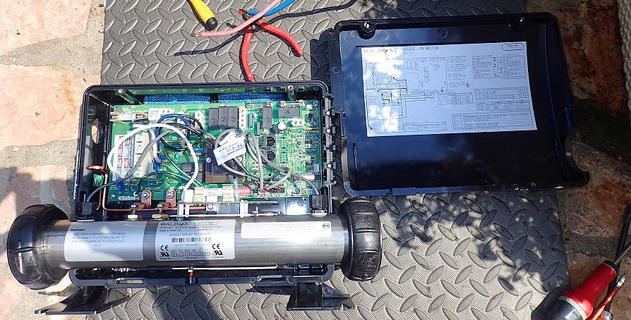 Boitier de contrôle Balboa GS510SZ pour spa