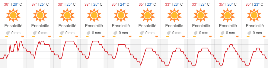 Canicule 2081 en France, piscine obligatoire
