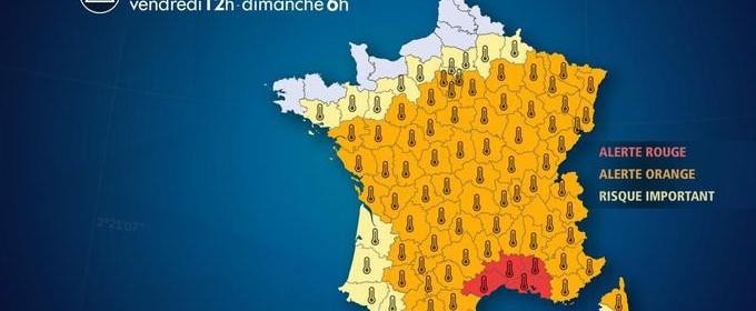 Canicule France juin 2019