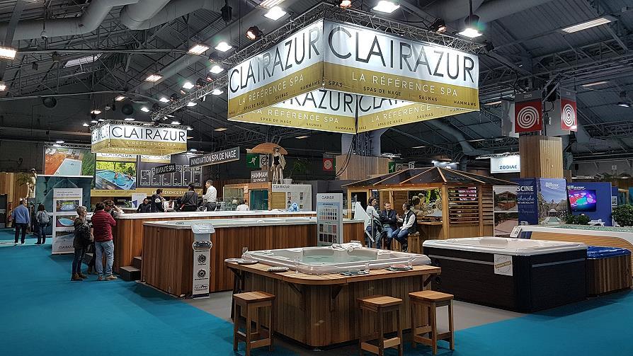 Clairazur spas hammams stand salon 2019