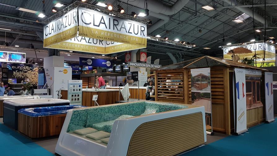 Clairazur spas stand salon 2019