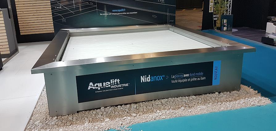 Fond mobile piscine Aqualift Industrie