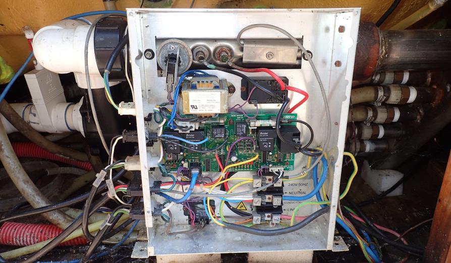 éparation spa boitier contrôle 3E series