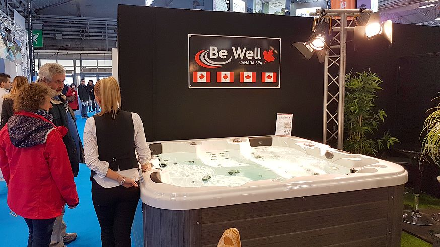 Salon Piscine 2016 - Be Well Spas