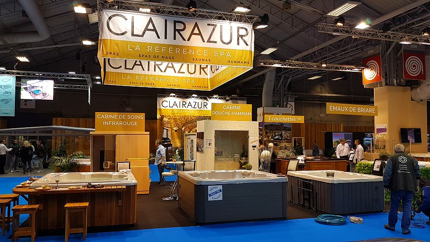 Salon Piscine 2016 - Clairazur