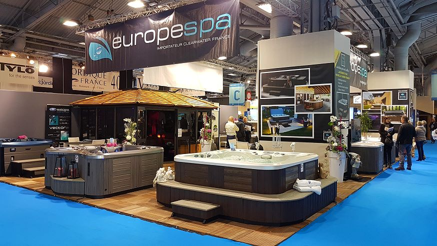 Salon Piscine 2016 - EuropeSpa