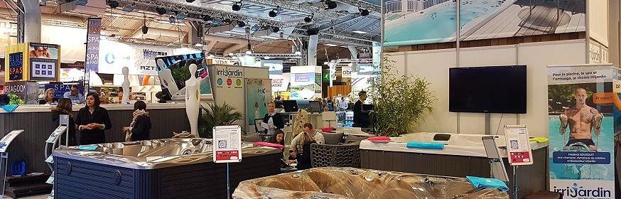 Salon Piscine 2016 - Irrijardin stand