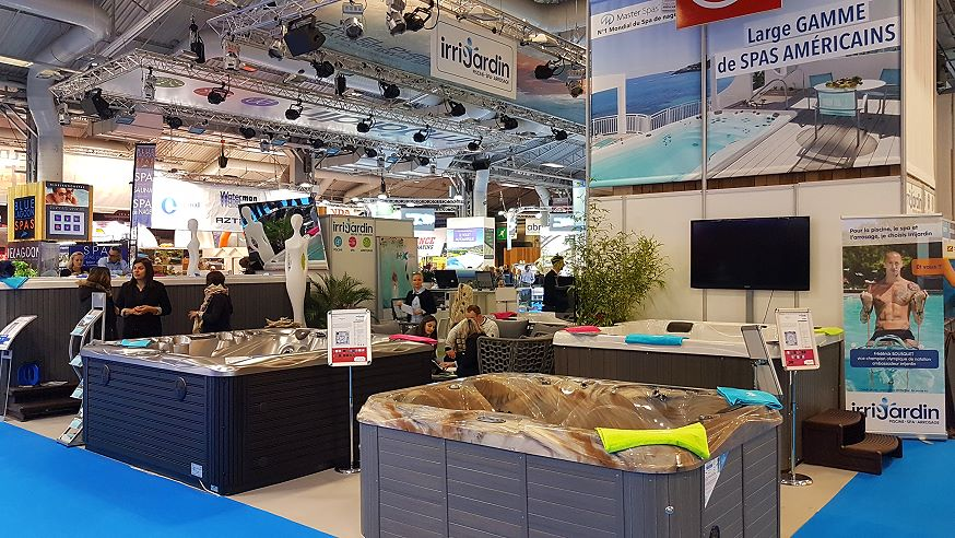 Salon Piscine 2016 - Irrijardin stand
