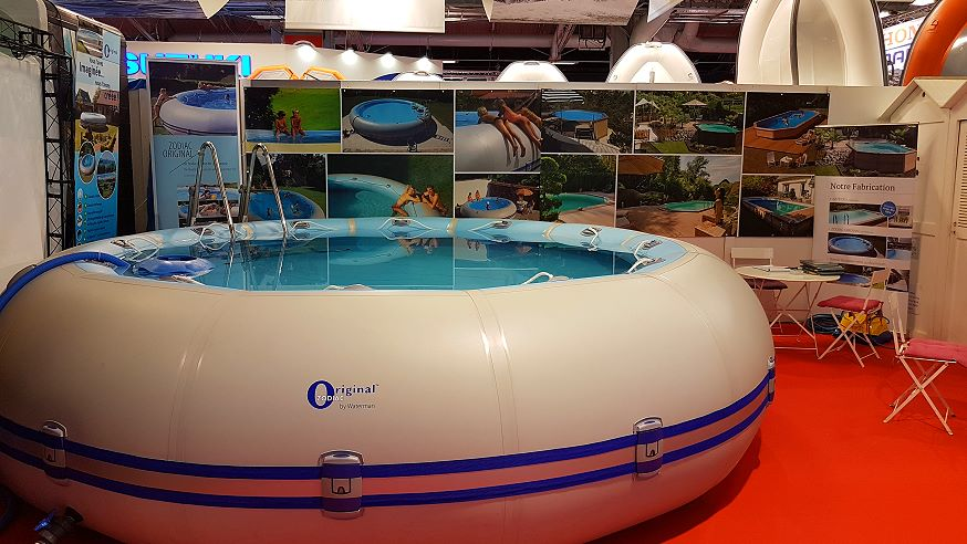 Derniers jours du salon piscine bien tre 2016 de paris for Salon piscine paris