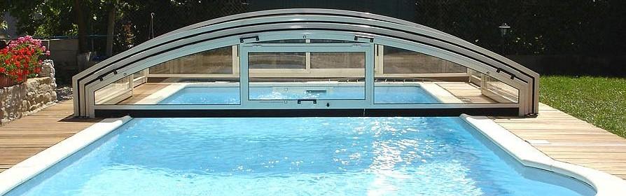 Abri bas, sécurité piscine Aladdin Concept