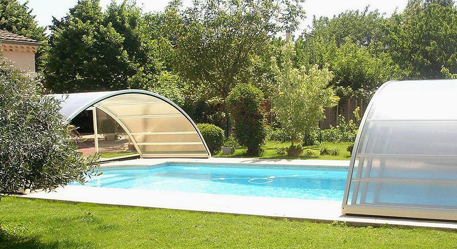 Abri haut, Sécurité piscine Aladdin Concept