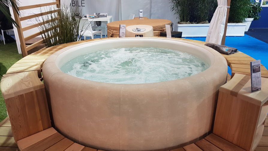 Softub spa gonflable
