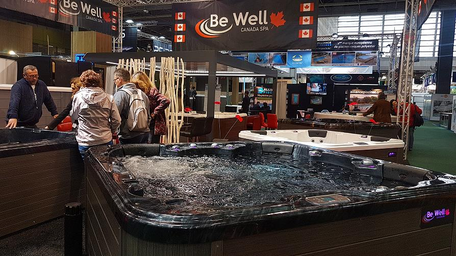Spas Be Well Canada Foire de Paris 2019