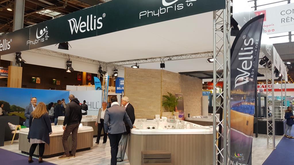 Wellis Spas Foire de Paris 2017