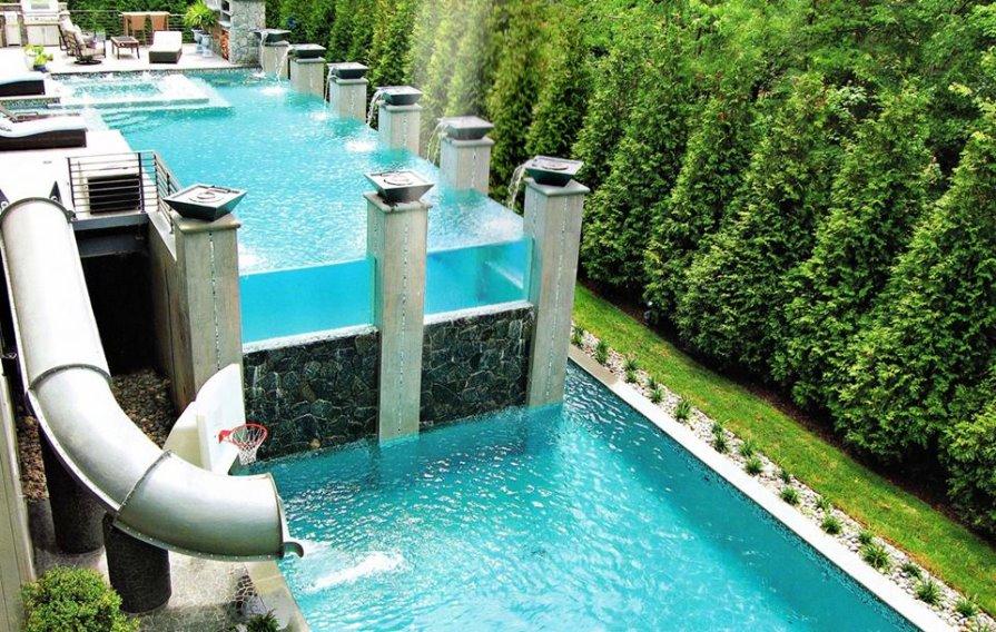 les belles piscines ou piscines insolites du monde d avril 2016 sur le blog nouveaut s piscines. Black Bedroom Furniture Sets. Home Design Ideas