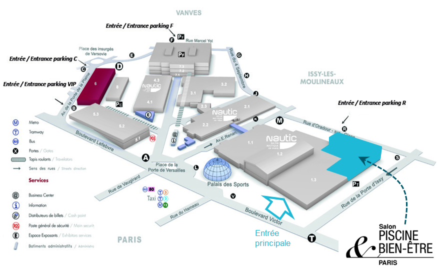 Salon piscine bien tre 2015 paris porte de versailles for Porte de versailles salon des vignerons independants 2015