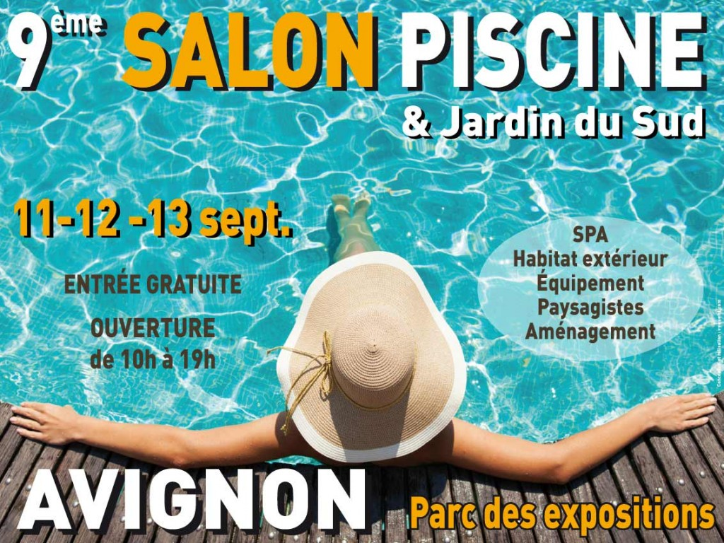 salon piscine jardin du sud en septembre 2015 sur le. Black Bedroom Furniture Sets. Home Design Ideas